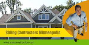 Siding contractors Minneapolis
