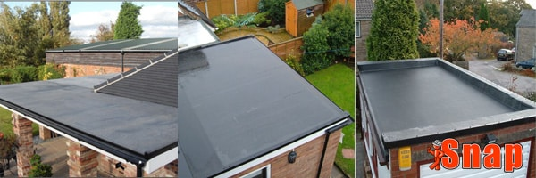 Common EPDM rubber roof repairs