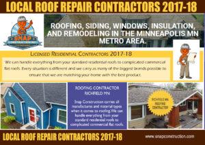 Local Roof Repair Contractors 2017-18