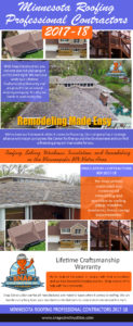 Minnesota Roofing Professional Contractors 2017-18