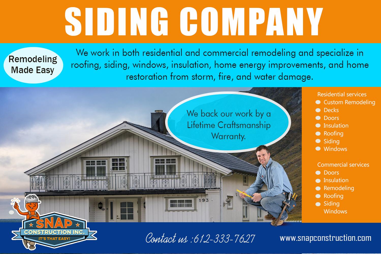 Siding Company