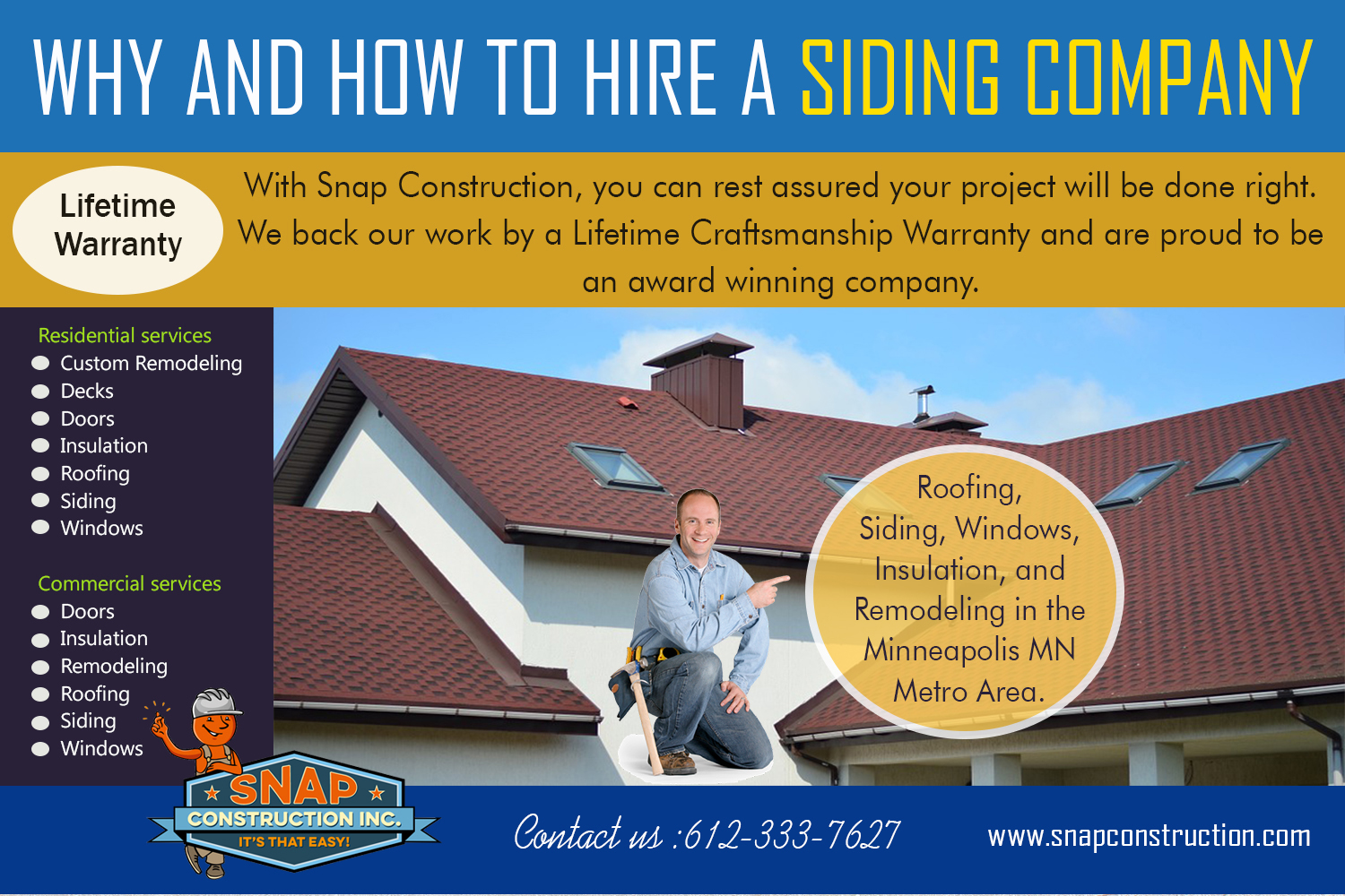 Why And How To Hire A Siding Company