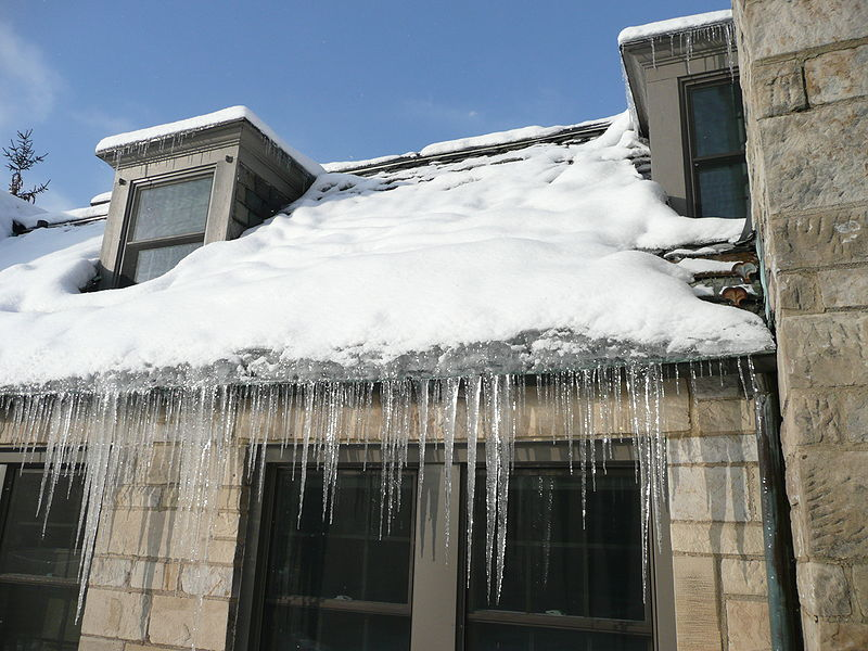 Did you have ice dams this winter